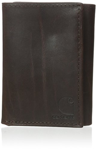 Carhartt Men's Oil Tan Trifold, Brown, One Size ()