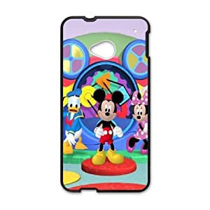 Micky Mouse HTC One M7 Cell Phone Case Black E0592655 by ruishername