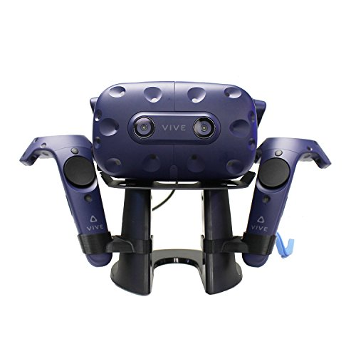 AMVR VR Stand,VR Headset Display Holder for HTC Vive Headset or HTC Vive Pro Headset and Controllers