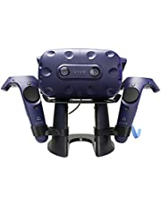 VR Stand/Station,VR Headset Display Holder for Placing HTC Vive or Pro Headset with Controllers