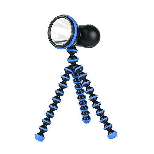 Joby Gorillatorch Adjustable and Flexible Tripod Flashlight, Blue by Joby