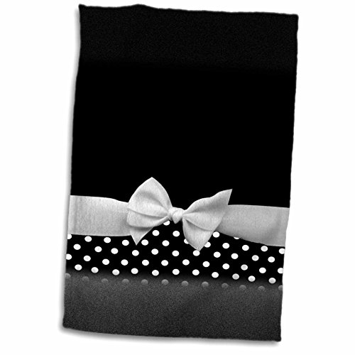 InspirationzStore Ribbon Designs - Cute fifties style black and white