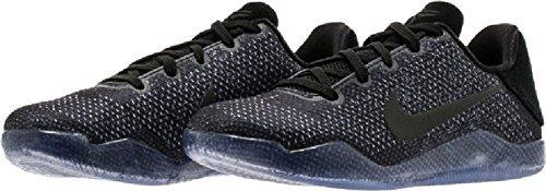 Nike Boys Kobe Xi (GS) Basketball Shoes (5Y, Black/Black-Black)