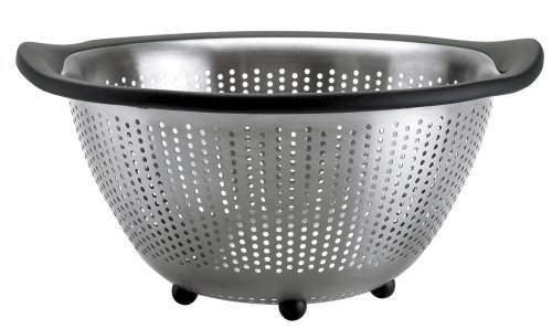 OXO Good Grips 3-Quart Stainless Steel Colander