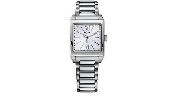 Hugo Boss 1502234 - Reloj de Cuarzo para Mujeres, Color Plata: Amazon.es: Relojes