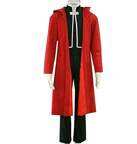 NSOKing-Fullmetal-Alchemist-Edward-Elric-Cosplay-Costume-Red-suit