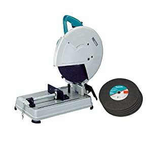 Makita 2414NBX 15 Amp 14-Inch Abrasive Cutoff Machine with Five Blades (Discontinued by Manufacturer)