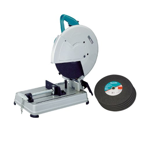 Wheel 14' Off Cut (Makita 2414NBX 15 Amp 14-Inch Abrasive Cutoff Machine with Five Blades)