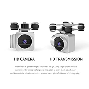 0.3 MP Quadcopter,X5UW 4CH 6-Axis FPV RC Quadcopter Wifi Camera Real Time Video 2 Control Modes By Dacawin 2