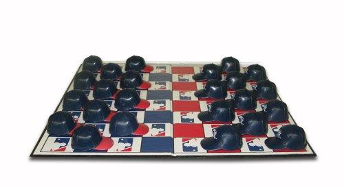 MLB New York Yankees Vs Red Sox Rivalry Miniature Helmets Checker Set