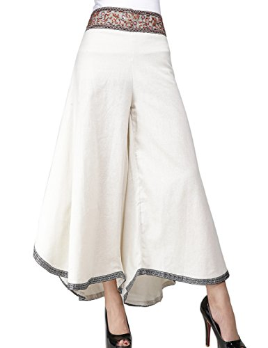 embroidery pants - 1
