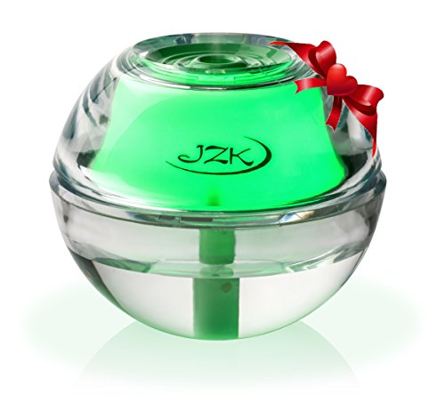 Humidifier for Sinusitis, Sinus Infection, Allergies, Nose Bleeds, Dry Sinuses by JZK | Mini Portable Quiet Humidifiers with Night Light, Auto Safety Shut-off, USB Cable, Adapter & Filter
