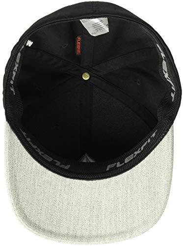 Stone Gray Full Xfit Hat Nvy Volcom Flexfit Men's Htr Black qEp6CxT