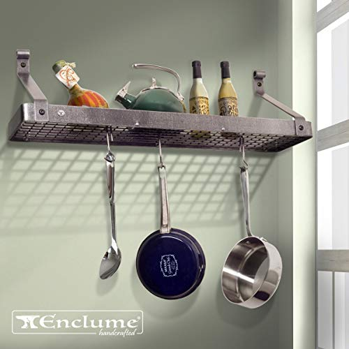 Enclume Gourmet Bookshelf Wall Rack, 30
