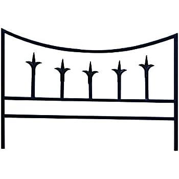 Amazon Com Panacea 89386 Classic Finial Border Fence
