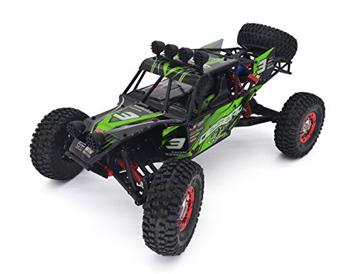 Rc Buggy - KELIWOW Eagle 3 High Speed Off-Road RC Car with 2.4Ghz Radio Control Desert Buggy RTR (Green)