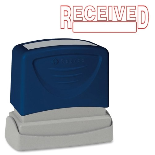 (Sparco 60026 Received Title Stamp, 1-3/4