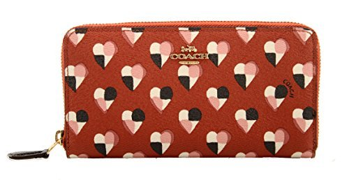 Coach Heart Accordian F25962 Wallet