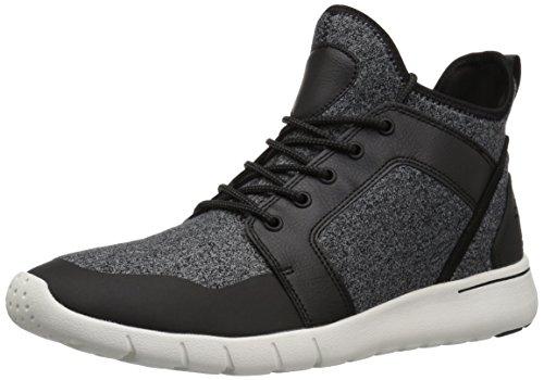 Gbx Black Shoes (GBX Men's Attaboy Oxford, Black/Gray, 13 Medium US)