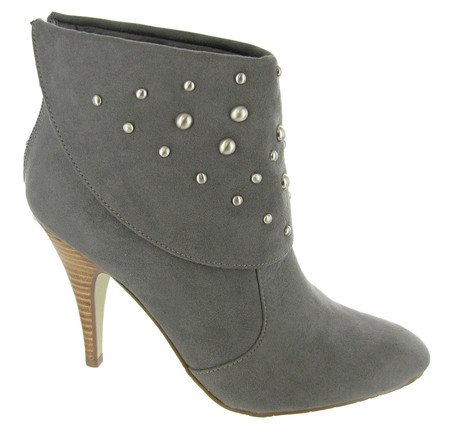 Cherish Unisa Ankle Dark Boot Women's Grey O5q0wnqZf