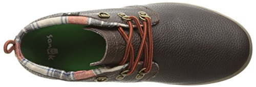 Sneaker Deluxe Dark Brown Cargo Men's Sanuk Fashion Eq4IxS