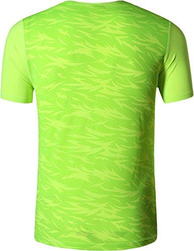 jeansian Uomo Asciugatura Rapida Sportivo Casuale Slim Sports Fashion Maglietta Tee Shirt Tshirt T-Shirts LSL020 3 spesavip