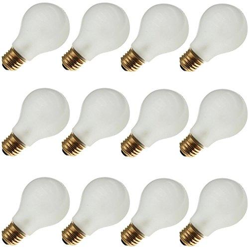 - Industrial Performance 60A19/RS 130V, 60 Watt, A19, Medium Screw (E26) Base Rough Service Light Bulb (12 Bulbs)