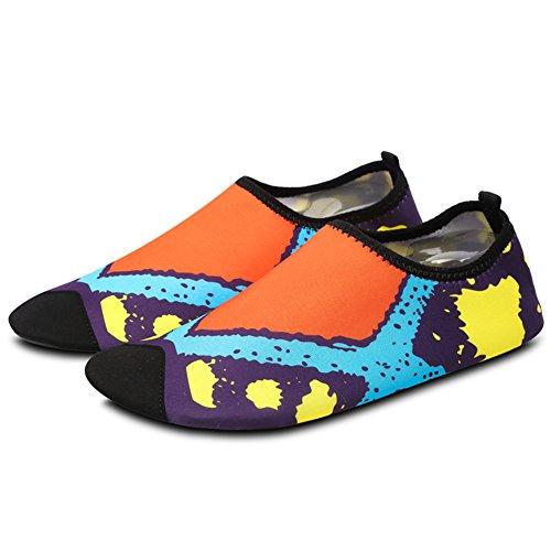 Bottines Femme Orange Boots pour Chaussures Hiver Homme SAGUARO qCO6PP