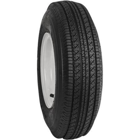 Towmaster 4.80-8 LRC/6 Ply Tire with 4 lug 8'' wheel by Towmaster