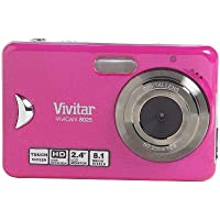 Vivitar 8025PK DIG CAM 8MP 2.4 LCD PINK8X SD TOUCH SCREEN LI-ON
