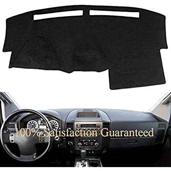 Poly Carpet Coverking Custom Fit Dashcovers for Select Nissan Armada Models Gray