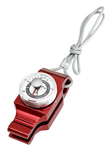 "FEI 12-0201 Baseline Mechanical Pinch Gauge with Case, 60 lb. Capacity, 4"" Height, 2"" Width, 6"" Length, Red"