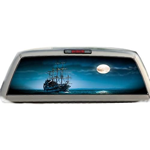 Truck Rear Window Graphics Custom Kamos Sticker