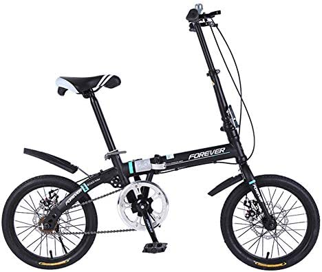 ZTIANR Bicicletas Plegables, 16 Pulgadas Bicicleta Plegable ...