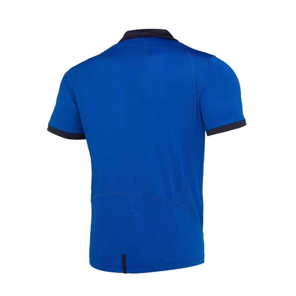 MINGDIAN Camiseta De Rugby 2019-2020 Italia Copa del Mundo Rugby ...
