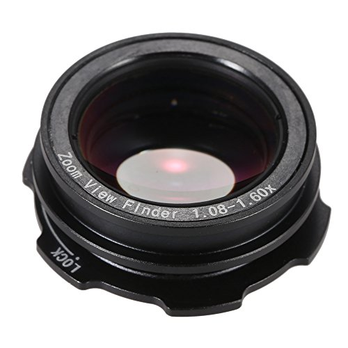 1.08x-1.60x Zoom Viewfinder Eyepiece Magnifier for Canon Nikon - 6