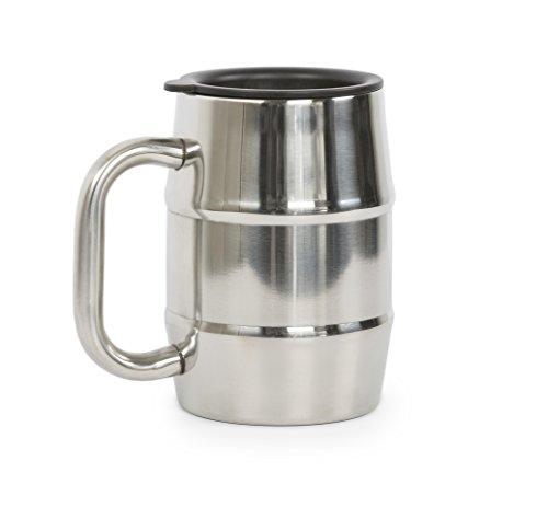 UPC 616348996037, ManMug.com Man Mug Stainless Steel, 16.9 Ounce