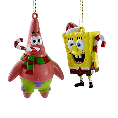 "Kurt S. Adler 4"" Spongebob Blow Mold Ornament"
