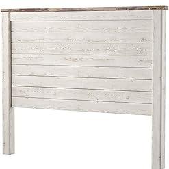 Bedroom Ashley Furniture Signature Design – Willowton Full Panel Headboard – Contemporary Style – Component Piece – Queen Size… farmhouse headboards