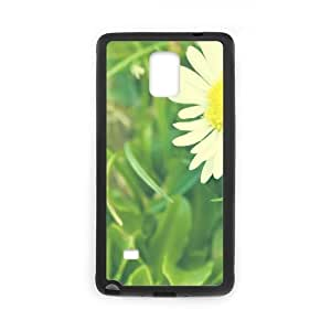 Samsung Galaxy Note 4 Cases Flower 387 Cheap for Boys, Samsung Galaxy Note 4 Cases for Women Cheap for Boys [Black]