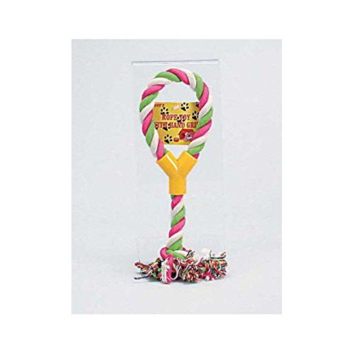 Rope Toy With Hand Grip – Case of 72