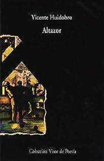 Altazor par Huidobro