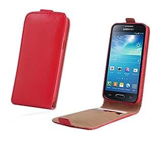 Mobility Gear KF2 funda con tapa para Samsung Galaxy S3 I9300-Red
