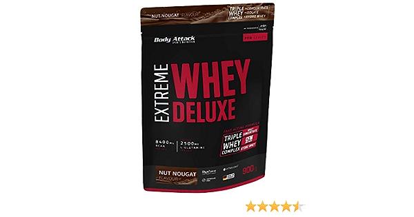 Body Attack Extreme Whey Deluxe, proteína en polvo con ...