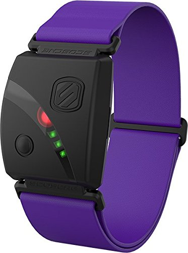 Scosche Rhythm24TM - Waterproof Armband Heart Rate Monitor - Purple