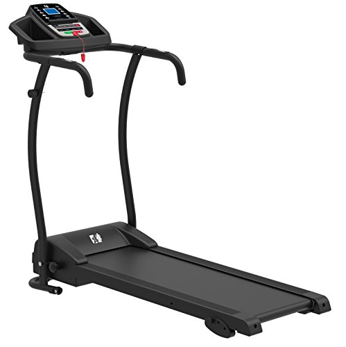 FIT4HOME Unisex SSJK-06 X-Lite II Treadmill, Black
