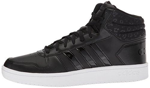 Vs Mid carbon core Core Originals Hoops 2 Adidas 0 Donna Black Black qg5twB
