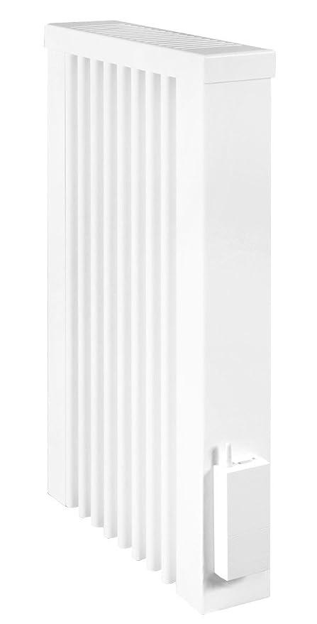 AeroFlow radiador de calefacción eléctrica MINI 650 W con ladrillo refractario y el receptor radio X2D