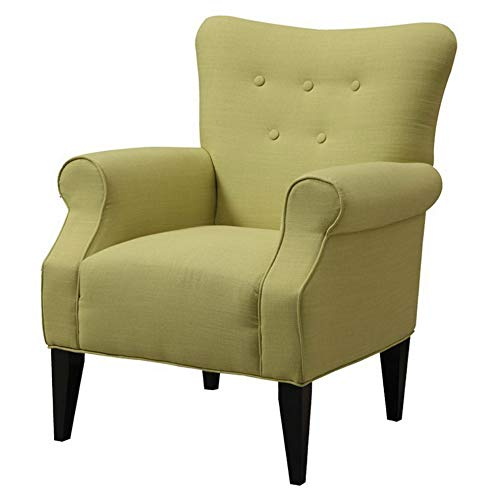 Amazon.com: Hebel Lydia Neon Button Back Accent Chair ...