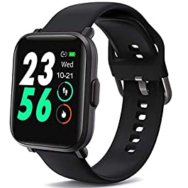 AMATAGE Smart Watch Fitness Tracker with 18 Sport Modes, Sleep Monitor, Oxygen Monitor, Activity Tracker Pedometer ATM5…